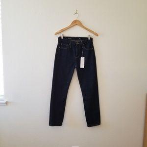 AG High Rise Crop Jeans